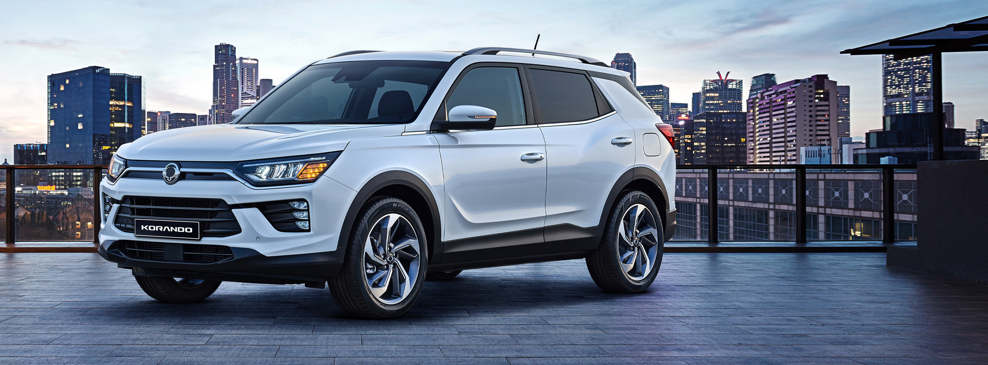 SsangYong New Korando Offers