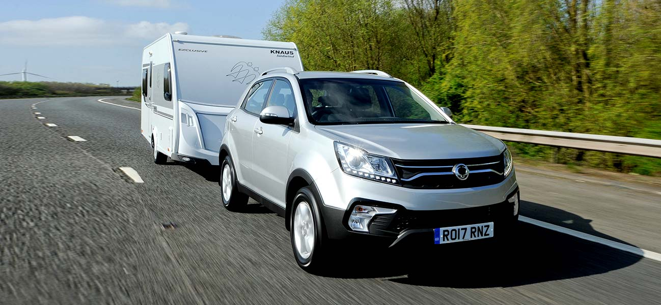 korando - Towing