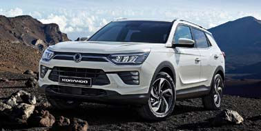 New SsangYong Korando from £16,495